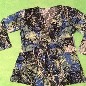 Conrad C collection blouse